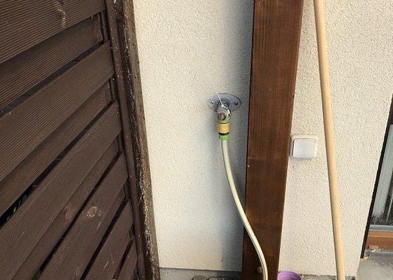 Instalatér - oprava venkovního nezámrzného ventilu Schell