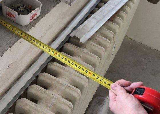 Výměna 3 radiatorů v bytovém domě, včetně zpracování projektu