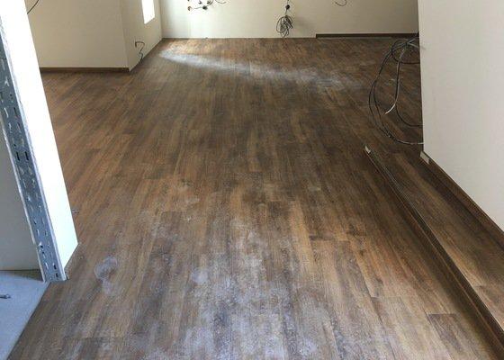 Pokládka vinylové podlahy 1 200m2