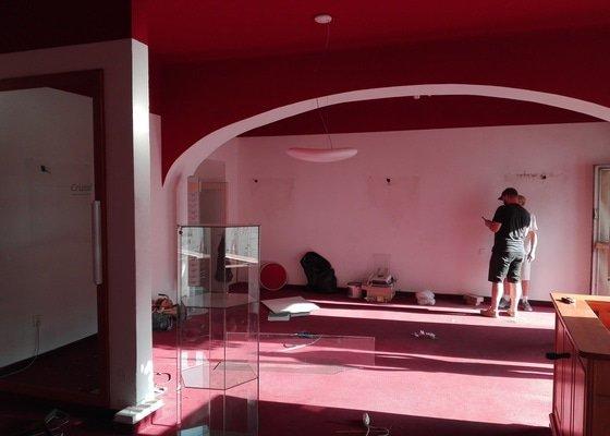 Rekonstrukce prodejních prostor