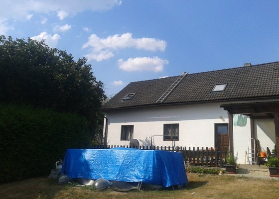 Nákup a montáž plastových střešních oken (3 ks)