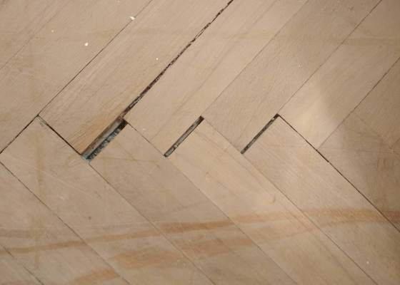 Renovace dřevěných parket