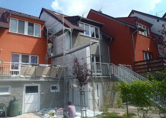 Dokončení fasády domu