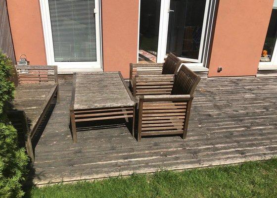 Rekonstrukce dřevěné terasy