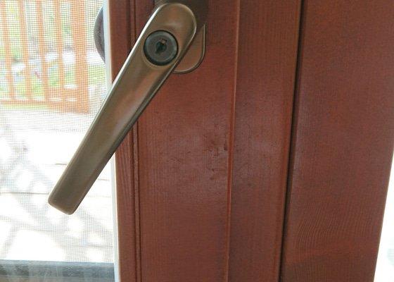 Seřízení balkonových dveří