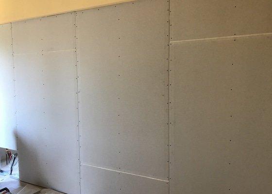 Sádrokartonová stěna s vnitřní protihlukovou isolací