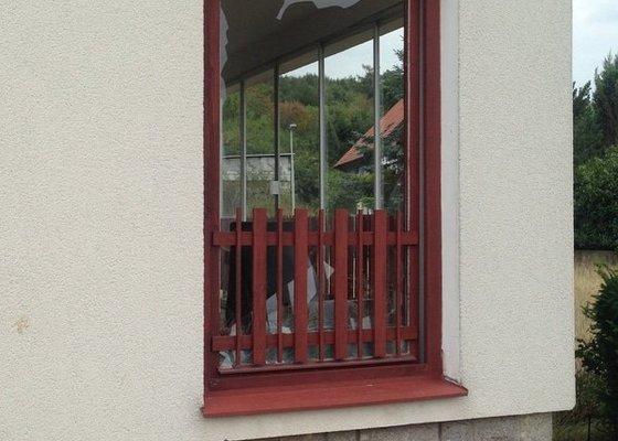 Zasklení balkonových dveří