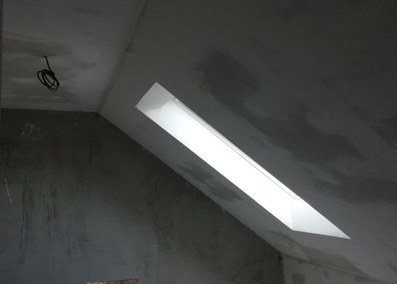 Sádrokartony v podkroví a dodělání místnosti