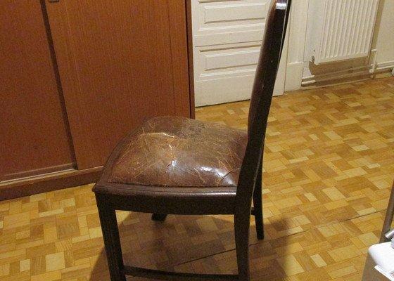 Oprava 6 ks židlí - jídelna zn. Gerstl z počátku 20.století