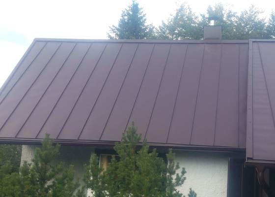 Rekonstrukce střechy a výměna krytiny
