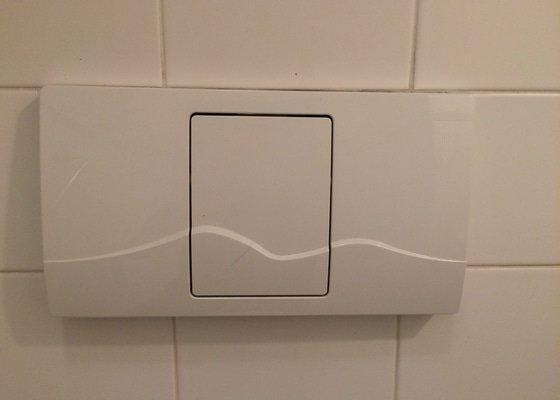 Oprava (výměna?) podomítkového splachovače WC