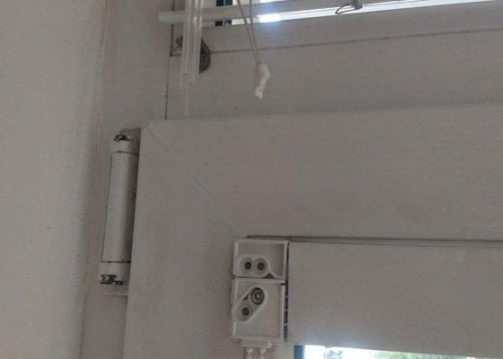 Oprava žaluzií + sezíření oken v bytě 2+1