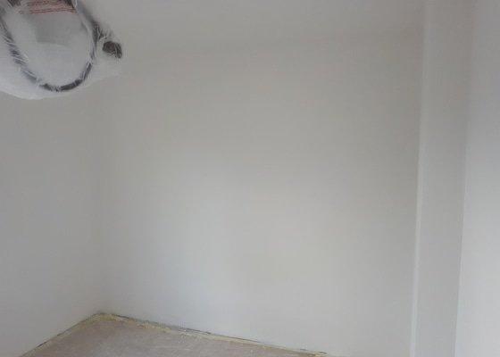 Štukování pokoje (1 pokoj - 3x4 metry, 2,2 m výška)