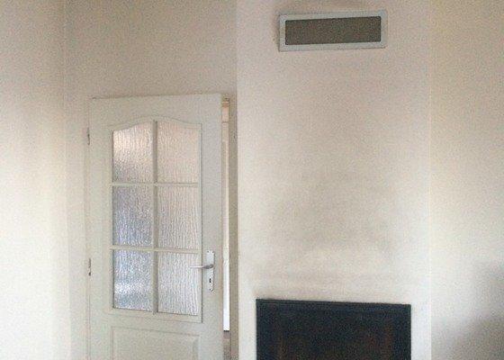 Malování obývacího pokoje a WC