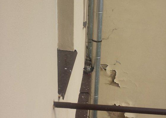 Ochrana proti holubům na římse a balkonu