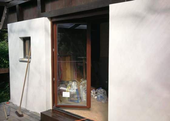 Navrh designu a realizace zastřešené terasy