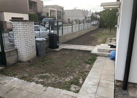 Založení nového trávníku vč. úpravy terénu