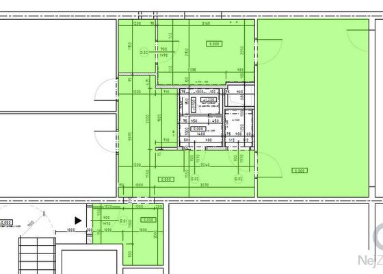Podlahářské práce, nivelace + lepení vinilových dílců (3 místnosti, cca 50 m3)