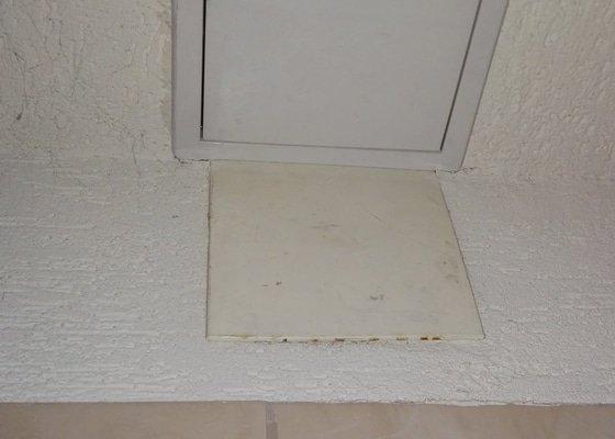 Úprava sádrokartonového obložení koupelny