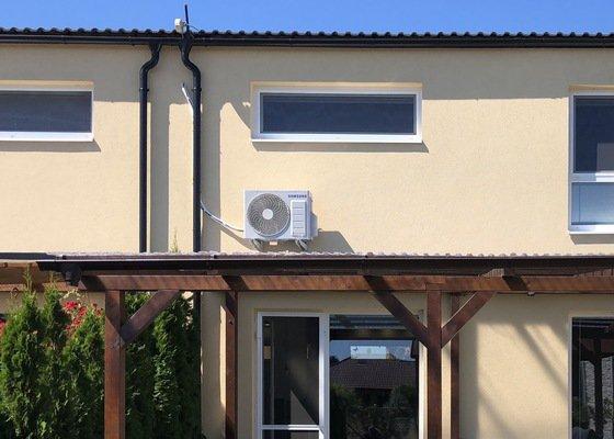 Klimatizace řadový dům