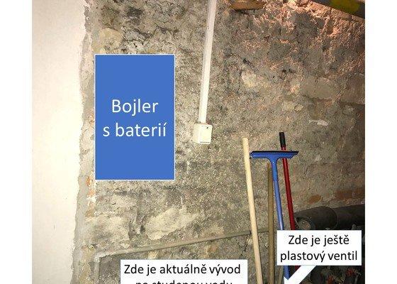 Instalace bojleru (včetně materiálu)