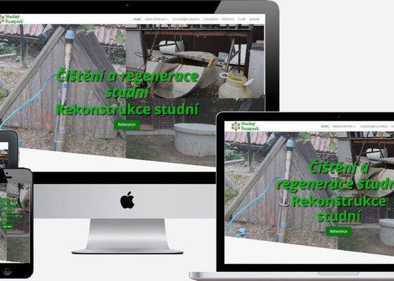 Responzivní web + webhosting.