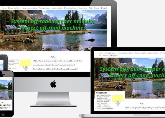 Responzivní web + webhosting + e-mailové schránky.