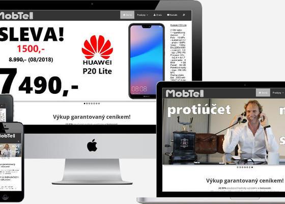 Responzivní web + webhosting