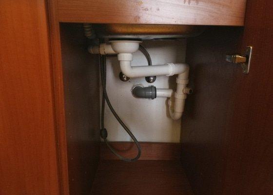 Výměna vodovodní baterie + drobné opravy