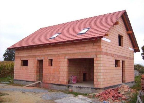 Výstavba hrubé stavby