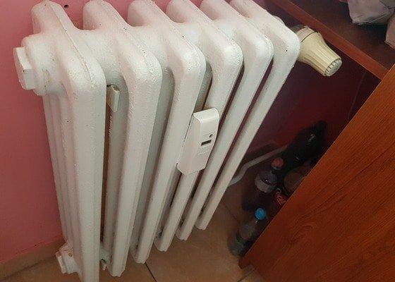 Demontáž radiátoru v paneláku