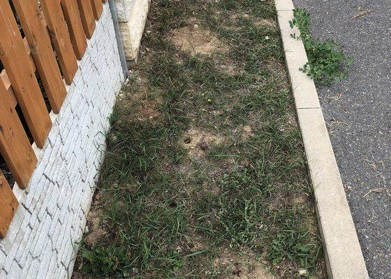 Zemní/zahradní práce - výkop zeminy a navezení kačírku
