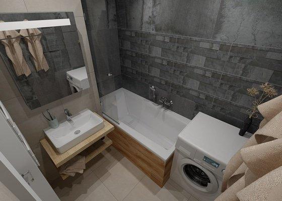 Rekonstrukce koupelny - Praha 3