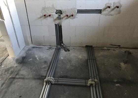 Voda a kanalizace v novostavbě