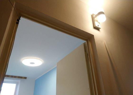 Revize elektroinstalace + instalace svítidel
