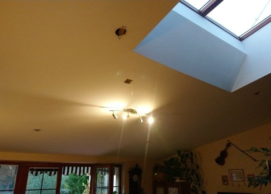 Opravy a instalace světel v RD