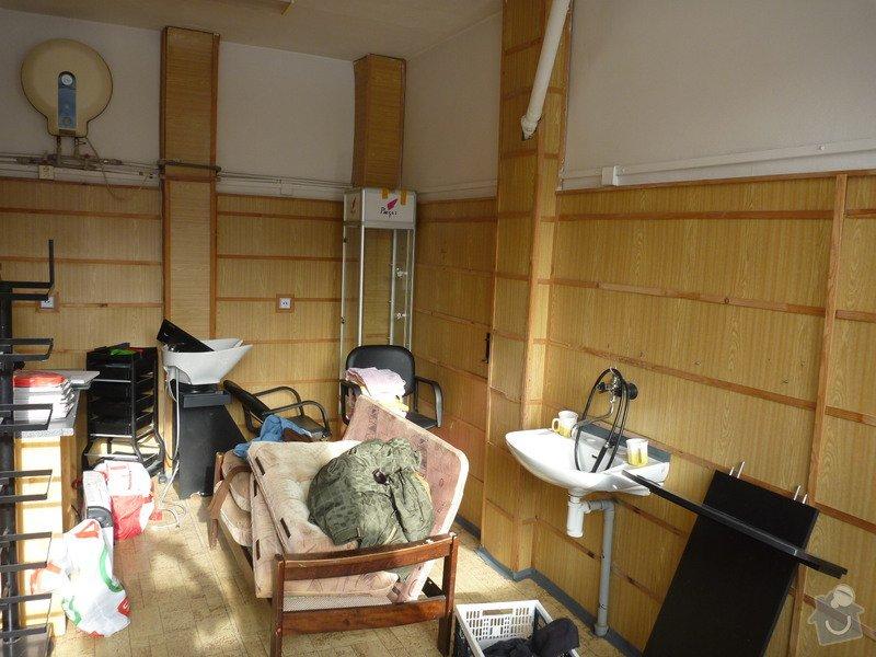 Kompletní rekonstrukce kadeřnického salonu: 21