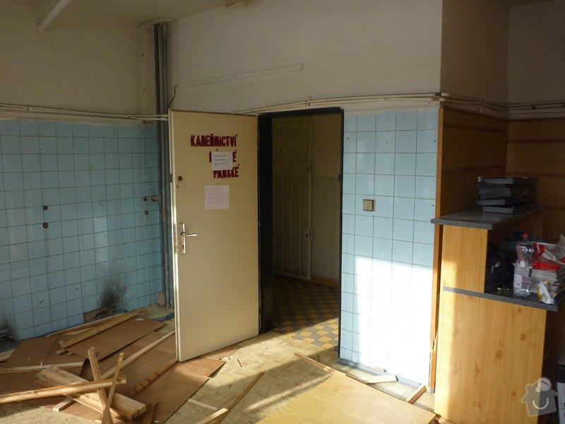 Kompletní rekonstrukce kadeřnického salonu: 26