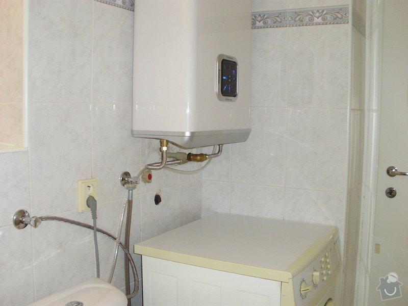 Výměna karmy za boiler: PA210004