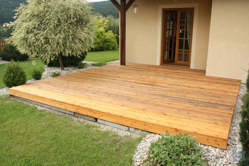 Dřevěná terasa: IMG_1741RES