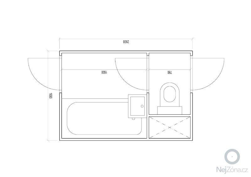 Rekonstrukce bytového jádra: puvodni_stav