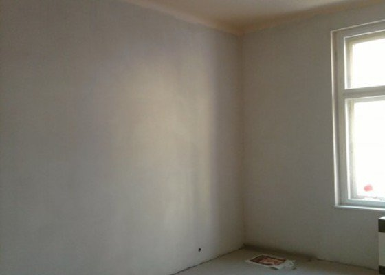 Renovace omítek,štukování,malířské práce 1 pokoj