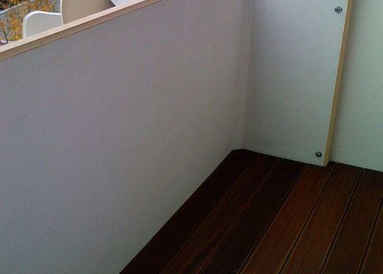 Terasová podlaha balkonu