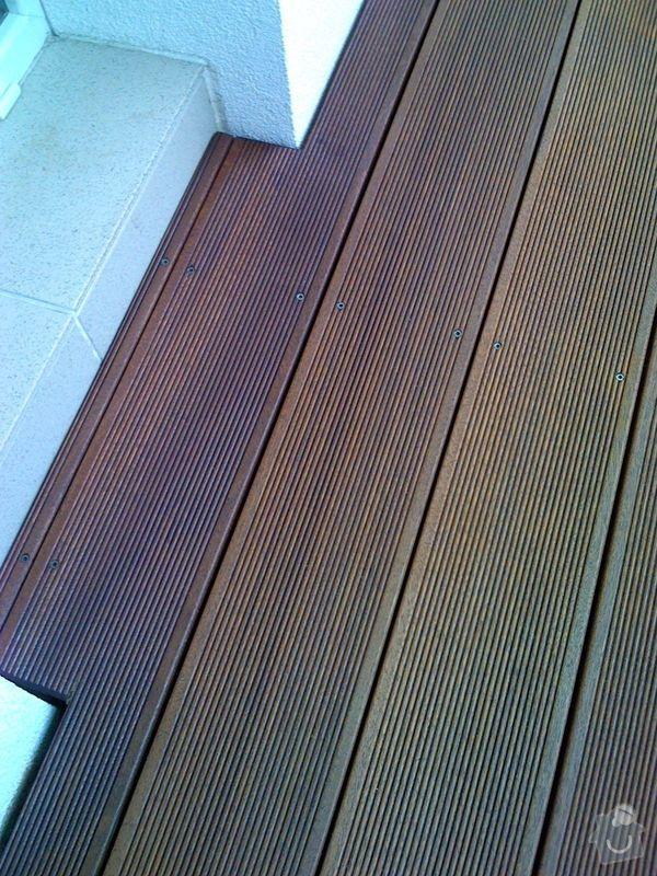 Terasová podlaha balkonu: 011