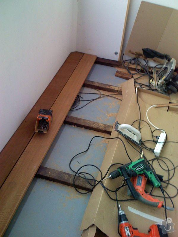 Terasová podlaha balkonu: 001