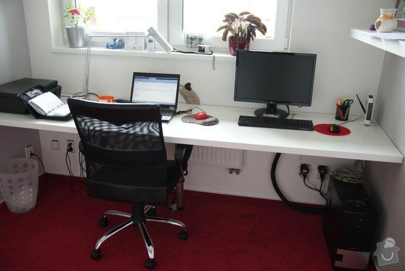 Kuchyňská linka, pracovní místnost, psací stůl, šatna: SUCHANKOVA_4