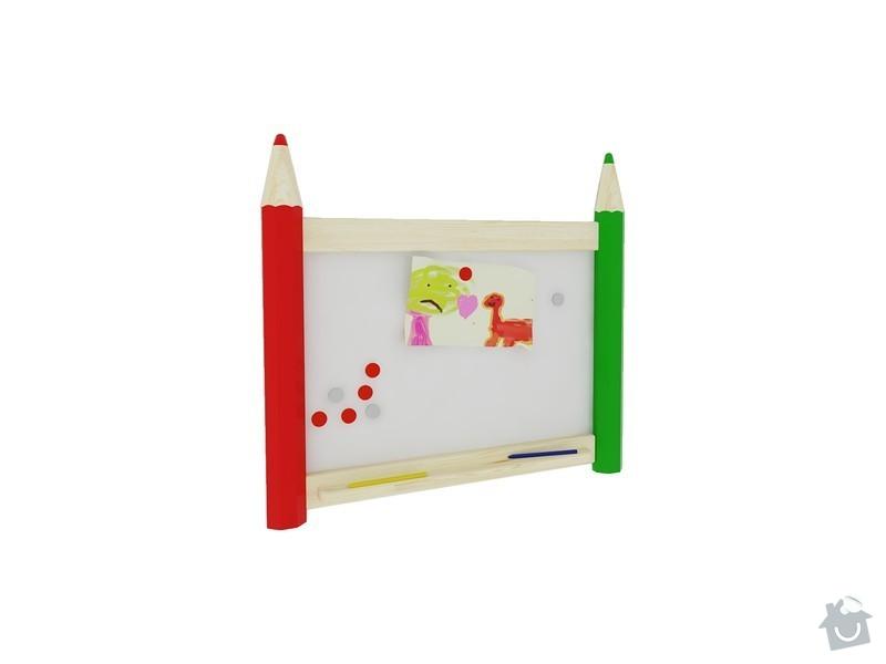 Vybavení dětského pokoje: P1002-tabule