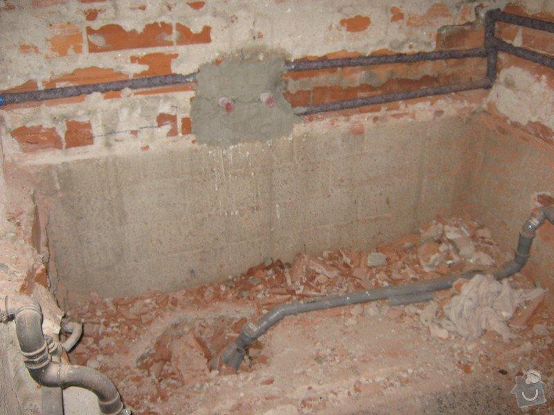 Obkladačské práce: koupelna