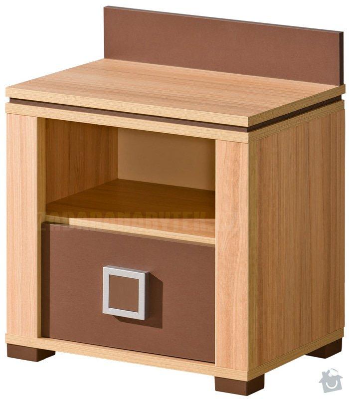 Výroba nábytku do studentského pokoje: nocni_stolek