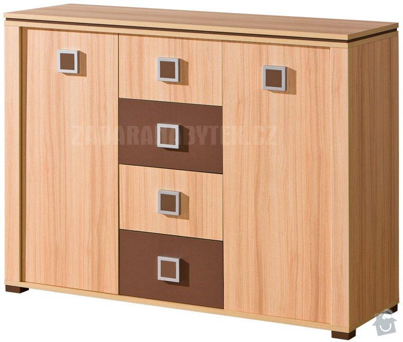 Výroba nábytku do studentského pokoje: komoda